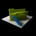 folder, edit, write, blank, writing, empty icon