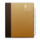 mimetypes x office address book icon