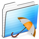 Backup, Folder, Stripe icon