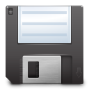 Actions document save icon