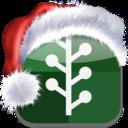 newsvine,christmas,bookmark icon