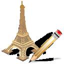 writing, torreeiffel, edit, write icon