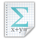 File, Math icon