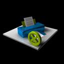 printer,delete,del icon
