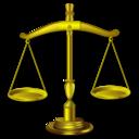 balance, justice, lawyer, law, gavel icon