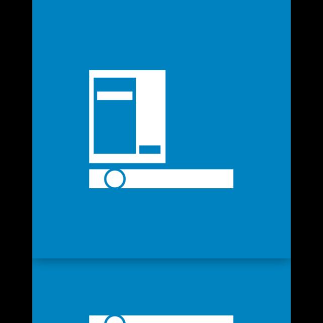 mirror, taskbar, menu, start icon