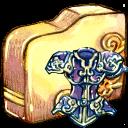 folder, armor icon