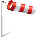 flag, windy, wind, storm, weather icon