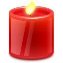 year, eico, candle icon