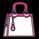 woman, pouch, accessory, bag, hand, case, female icon