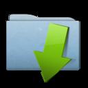 Folder Blue Download icon