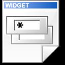 Mimetype widget doc icon