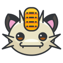 meowth, pokemon, game, go, play icon