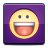 yahoo, messenger, social, smiley icon