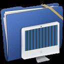 Blue Elastic iMac icon