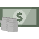currency, money, dollar, cash, finance icon