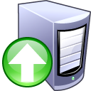 upload,server,computer icon