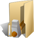 development, develop, pack, package icon