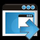 application arrow right icon