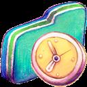 Folder, Green, In, Progress icon