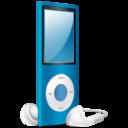 ipod,nano,blue icon