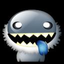 cartoon, monster icon