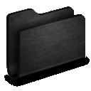folder, metallen icon