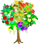 fruits tree icon