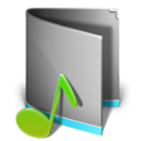 music,folder,alt icon
