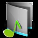 music,folder,alt icon