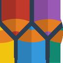 pencil, edit, colors, document, pen, write icon