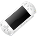 White PSP 2 icon