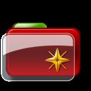 Christmas Folder Star icon