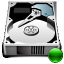 hard drive, mount, hdd, hard disk icon