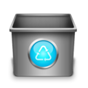 trash,empty,blank icon