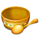 food, spoon, bowl icon