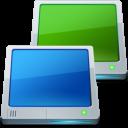 Desktops, Multiple icon