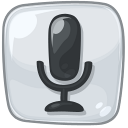 search, voice icon