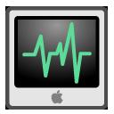 monitor, screen, computer, activity, display icon