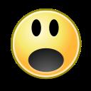 surprise, face icon
