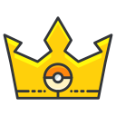 play, game, pokemon, crown, go icon