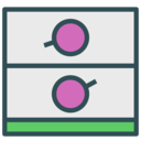 Double safebox icon