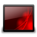 Black, Desktop, Red icon