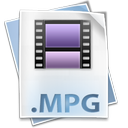 mpg, file, mpeg icon