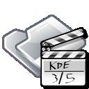 video, movie, film, folder icon