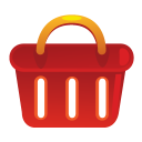 shopping basket, e commerce, shoppingbasket icon