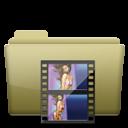 Folder, Movie icon