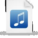 paper, blue, file, document icon