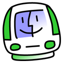lime, imac icon