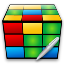 cube,write,writing icon